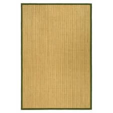 <strong>Safavieh</strong> Natural Fiber Green Border Rug