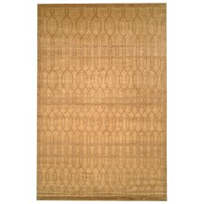 Tibetan June Brown Area Rug
