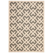 Courtyard Grey / Bone Rug