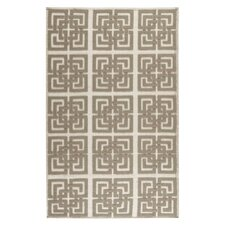 Martha Stewart Puzzple Floral Ivory/Brown Area Rug