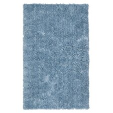 Shag Light Blue Rug