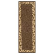 Courtyard Blossom Bordered Outdoor Rug
