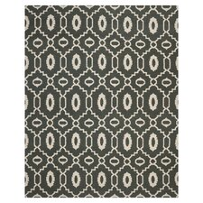 Dhurries Chocolate / Ivory Rug