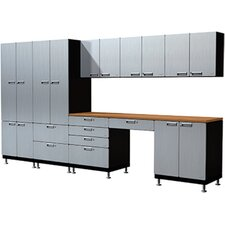 19 Piece Creative Work Space Cabinet Set