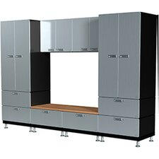 Lockers and Bench Set S73