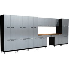 26 Piece Desk S72 Work Center Cabinet Set