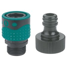 2 Piece Faucet Connector Set