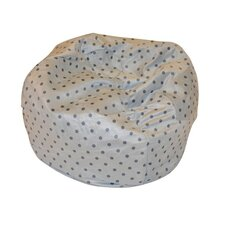 Small Polka Dot Bean Bag Chair