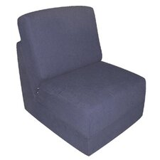 <strong>Fun Furnishings</strong> Kid's Cotton Sleeper Chair