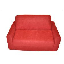 <strong>Fun Furnishings</strong> Micro Suede Kid's Sofa Sleeper