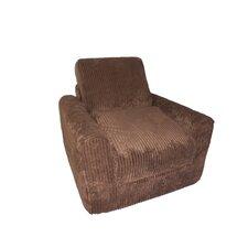 Chenille Kid's Chair Sleeper