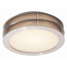 Iron 1 Light Flush Mount
