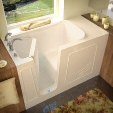 "Tucson 60"" x 30"" Soaking Walk-In Bathtub"