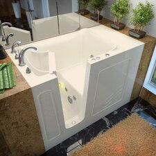 "Ashton 53"" x 30"" Whirlpool Jetted Walk-In Bathtub"