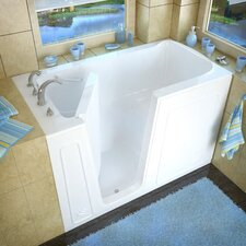 "<strong>Therapeutic Tubs</strong> Aspen 60"" x 32"" Soaking Walk-In Bathtub"