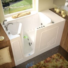 "Tucson 60"" x 30"" Whirlpool & Air Jetted Walk-In Bathtub"