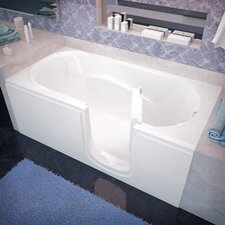 "Stream 60"" x 30"" Soaking Step-In Bathtub"