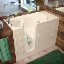 "Santa Fe 53"" x 26"" Whirlpool Jetted Walk-In Bathtub"