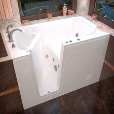 "<strong>Therapeutic Tubs</strong> Buena Vista 54"" x 30"" Whirlpool Jetted Walk-In Bathtub"