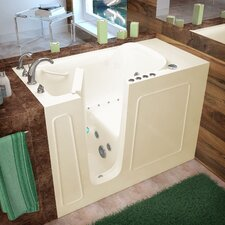 "Santa Fe 53"" x 26"" Whirlpool & Air Jetted Walk-In Bathtub"