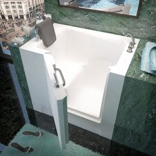 "Catalina 39"" x 27"" Soaking Walk-In Bathtub"