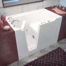 "Crescendo 60"" x 36"" Air Jetted Walk-In Bathtub"