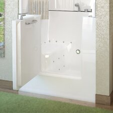 "Mesa 42"" x 31"" Air Jetted Walk-In Bathtub"