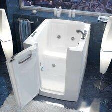 "Durango 38"" x 32"" Whirlpool Jetted Walk-In Bathtub in White"