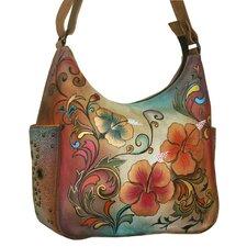 Henna Floral Hobo Bag