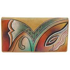 Ladies Two Fold Slim Wallet