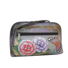 Multi Compartment Wristlet