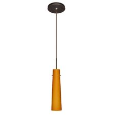 <strong>Besa Lighting</strong> Camino 1 Light Mini Pendant