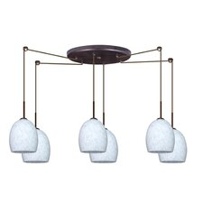 Lucia 6 Light Pendant