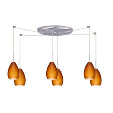 Pera 6 Light Mini Pendant