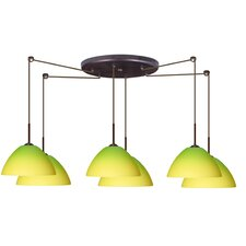 <strong>Besa Lighting</strong> Tessa 6 Light Pendant