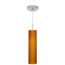 <strong>Besa Lighting</strong> Stilo 1 Light Mini Pendant
