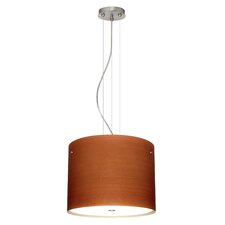 <strong>Besa Lighting</strong> Tamburo 3 Light Drum Pendant