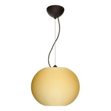 <strong>Besa Lighting</strong> Jordo 1 Light Globe Pendant