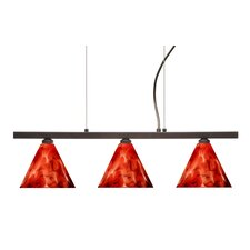 <strong>Besa Lighting</strong> Kani 3 Light Linear Pendant