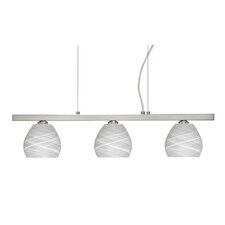 Tay Tay 3 Light Linear Pendant