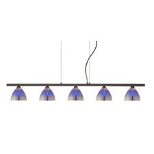 <strong>Besa Lighting</strong> Sabrina 5 Light Linear Pendant