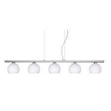 <strong>Besa Lighting</strong> Palla 5 Light Linear Pendant