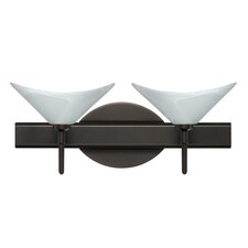 <strong>Besa Lighting</strong> Hoppi 2 Light Bath Vanity Light
