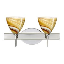 Mia 2 Light Bath Vanity Light