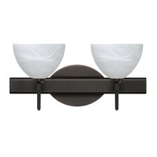 <strong>Besa Lighting</strong> Brella 2 Light Bath Vanity Light