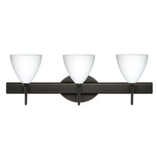 <strong>Besa Lighting</strong> Mia 3 Light Bath Vanity Light