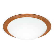 <strong>Besa Lighting</strong> Ring 1 Light Flush Mount