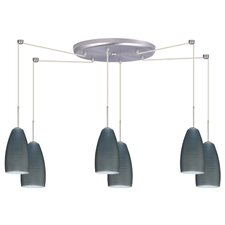 <strong>Besa Lighting</strong> Chrissy 6 Light Pendant