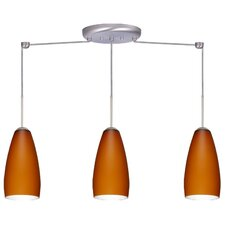 <strong>Besa Lighting</strong> Chrissy 3 Light Linear Pendant