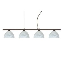<strong>Besa Lighting</strong> Brella 4 Light Linear Pendant